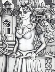 Elf princess in Rivendell