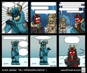 Buso-jaras comic strip compilation I by Kozi87