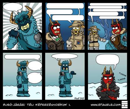 Buso-jaras comic strip compilation I
