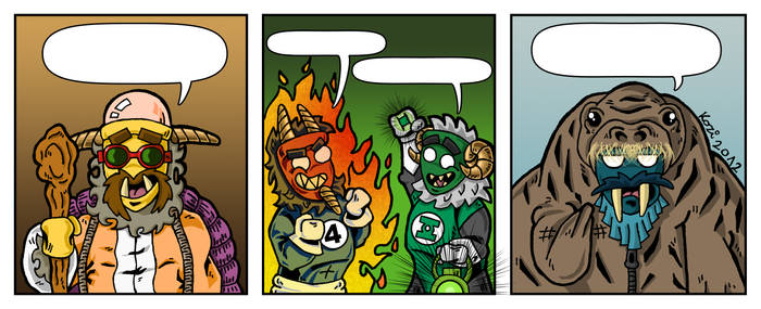 Another Buso-jaras comic strip from me