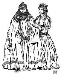 Szent Istvan kiraly es Gizella kiralyne