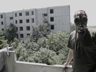 Szentkiralyszabadja - a ghost town in Hungary