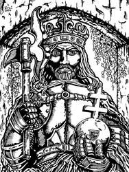 Ladislaus I of Hungary by Kozi87