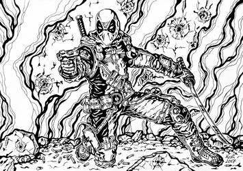 Deadpool fan art by Kozi87