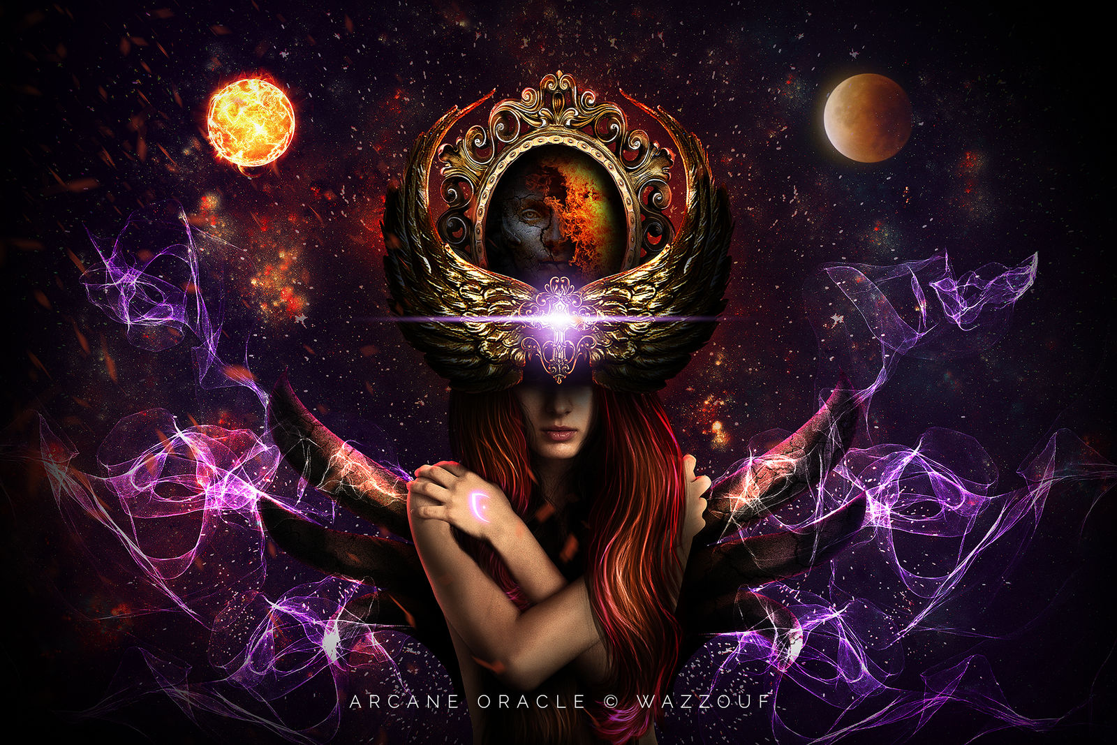 Arcane Oracle by Wazzouf