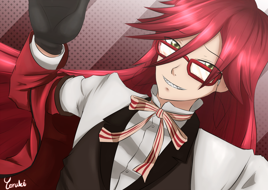 how to draw grell sutcliff