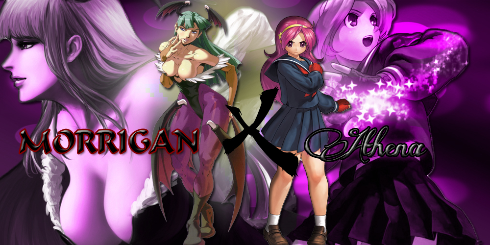 Morrigan&athena Final by thekusanagi1