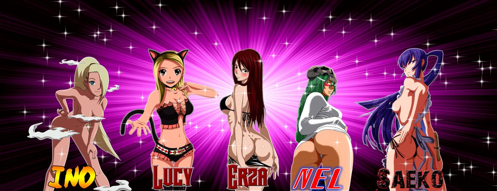 Sexy Anime Divas (who will you choose) by thekusanagi1