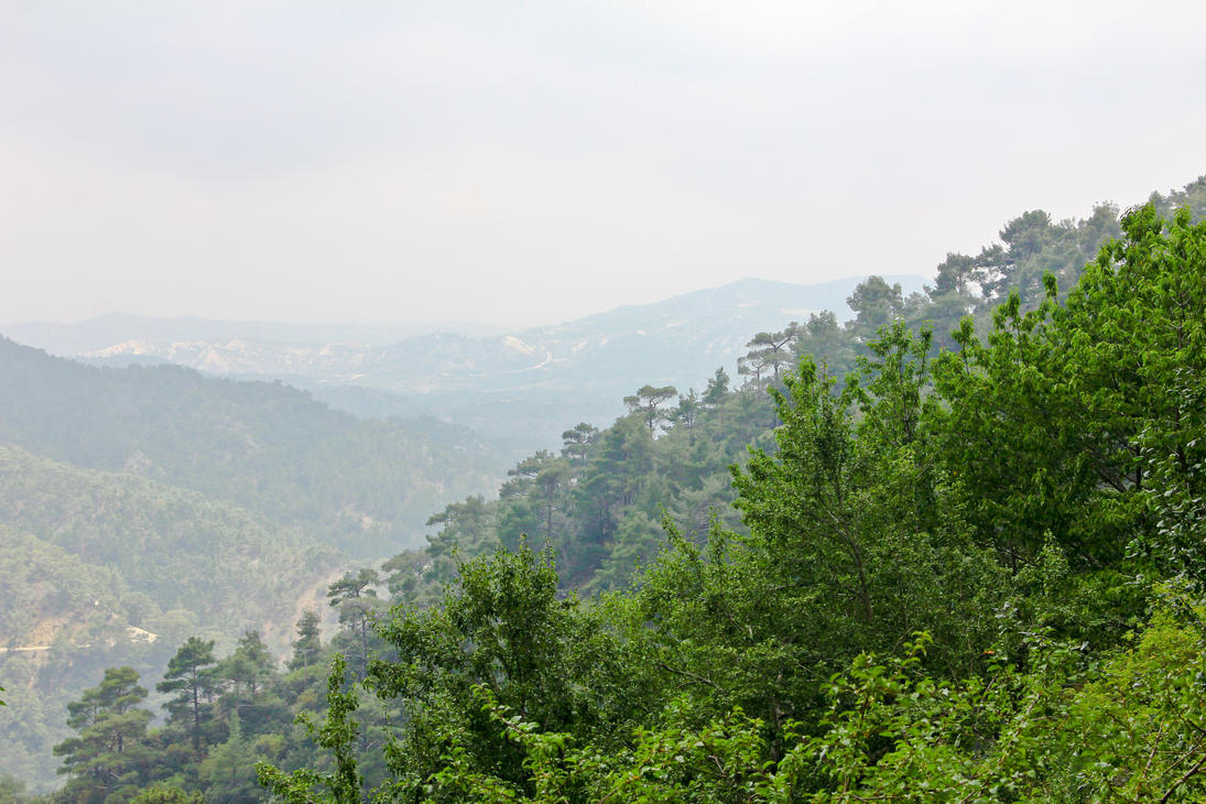 Troodos Mountains by Harry-Paraskeva