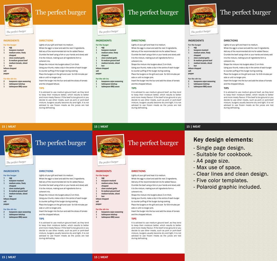 Cookbook - Design 02 by Harry-Paraskeva