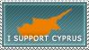 I Support Cyprus by Harry-Paraskeva