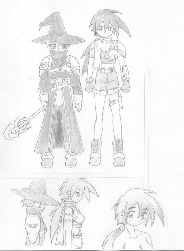 Mecano Contest: mago y ladrona by OCR-ED-209