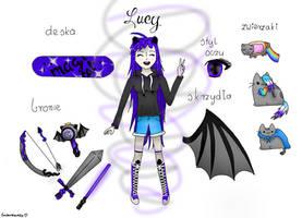 My OC by EndziaXD