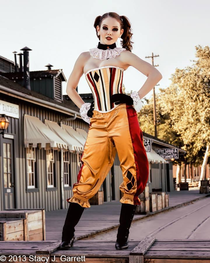 Victorian Harley Quinn by stacyjgarrett