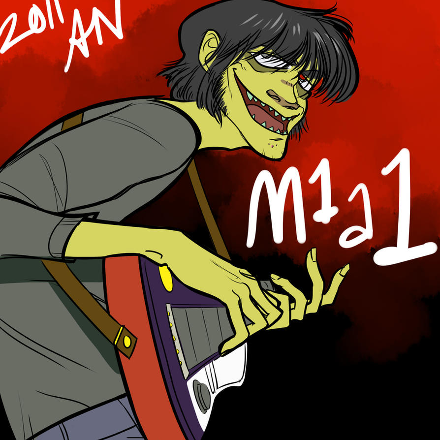 murdoc sucks and so do you by thenugeart