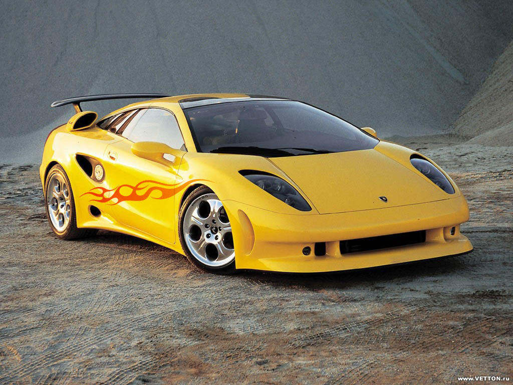 Yellow Car With Flame By Guska076 On Deviantart
