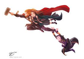 Thor: The Dark World In a Nutshell by rizoron