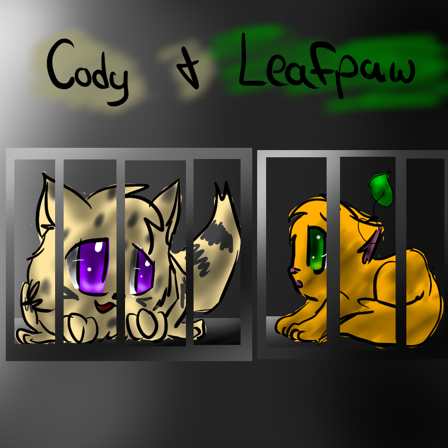 Warriors The New Prophecy Book 5: Cody And Leafpaw By Kitzophrenic On DeviantArt