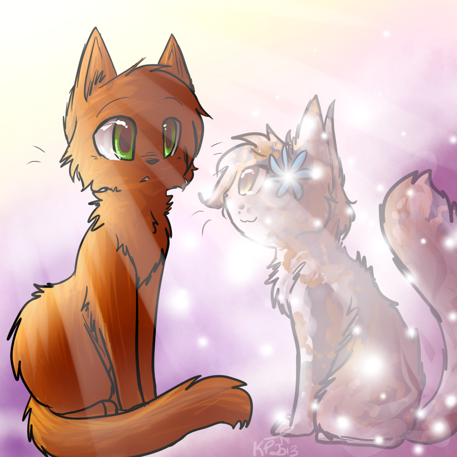 warrior cats coloring pages spottedleaf - photo#22