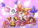 cat friends !!