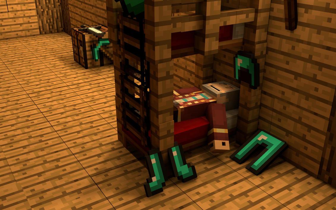 Minecraft animation by Jurgie97 on DeviantArt 5DDix3HN