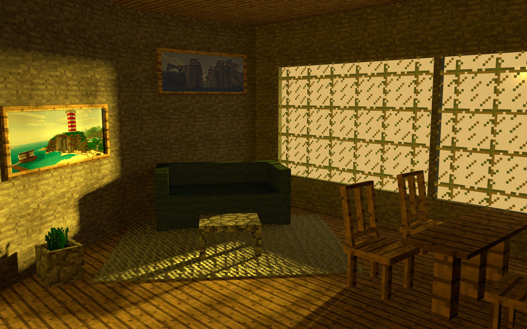 Minecraft HD Room By Jurgie97 On DeviantArt