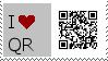 QR Code Fan Stamp by JFGemini107