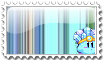 Ice Kirby Stamp by Oshawott-kun