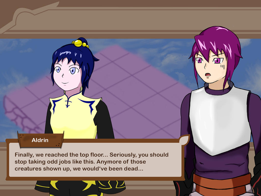 G.a.m.e contest entry : Ingame Dialogue Screenshot by LieMint