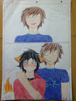 Me With My Sempai.. 7///7
