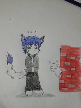 My furry OC with complete body ^^