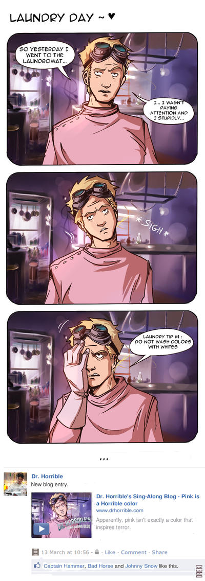 Dr. Horrible - Oh shi- by Dreki-K