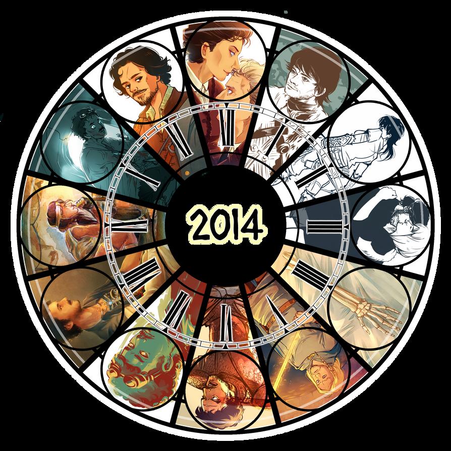 2014 art summary by Dreki-K