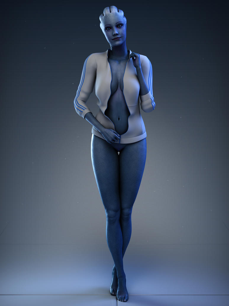 Mass effect nude art