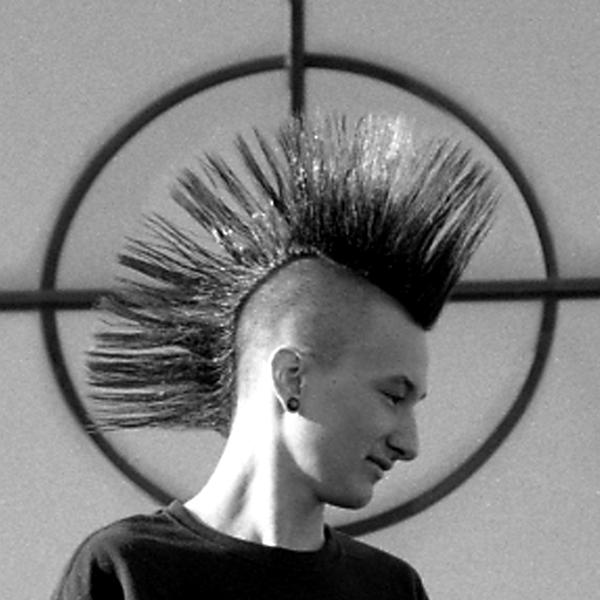 Mohawk by VooDooGirl89 Get Your Punk Out: Bright and Colourful Mohawk Photography