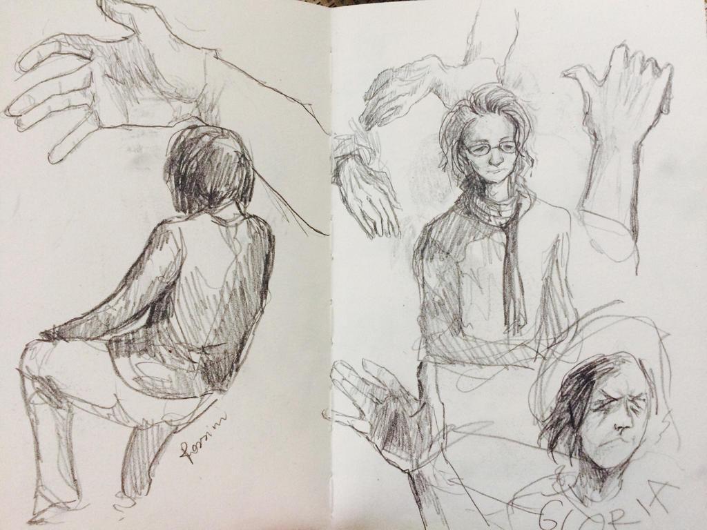 Travel sketch #6 by PokuliuszYorshPoki