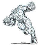 Colossus Juggernaut by imagesbyalex