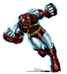 Colossus Juggernaut color by imagesbyalex