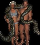 Snake Wrestling Game