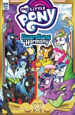 1 My Little Pony Annual 2017 cover A by Futaba2