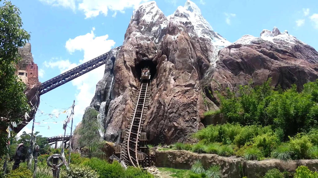 Animal Kingdom Asia Expedition Everest by LightReading2