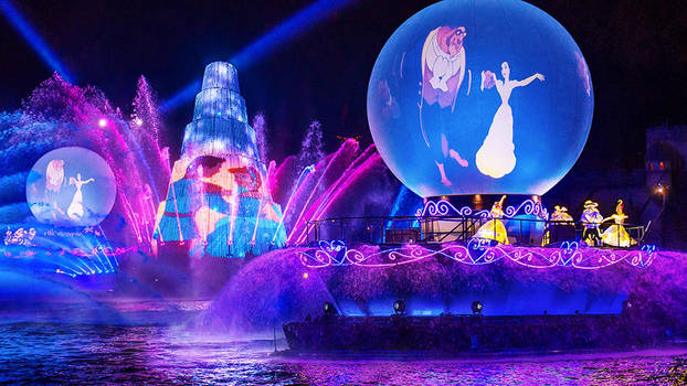Disneysea Mediterraean Harbor Fantasmic