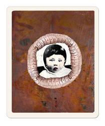 Adolf as a boy by derkert