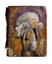 crying woman by derkert