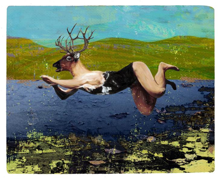 Another swim for mr Jones by derkert