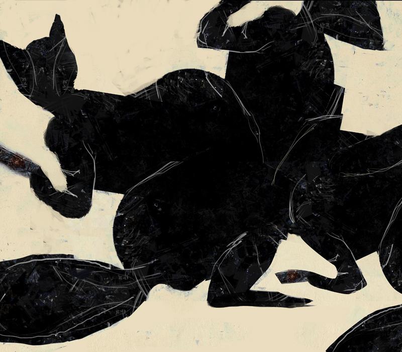 Animals having a ball by derkert