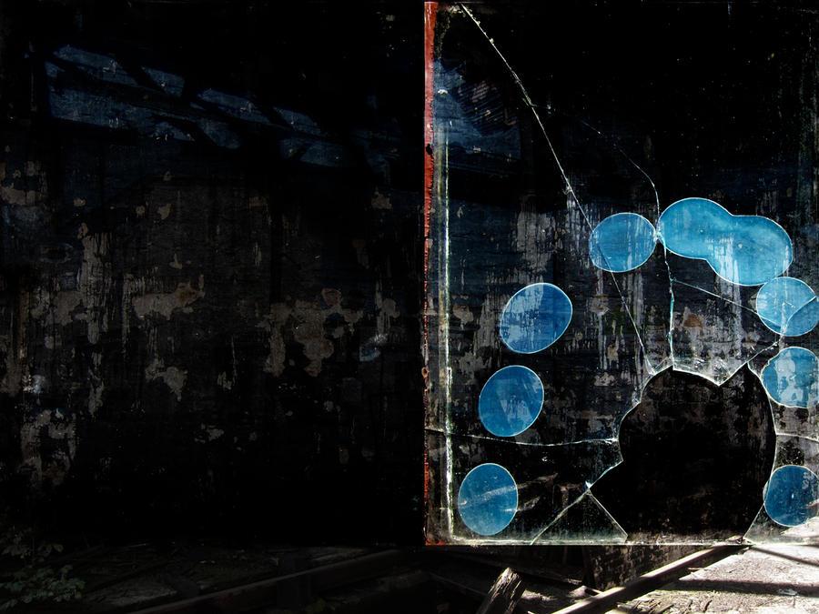 Blue dots by derkert