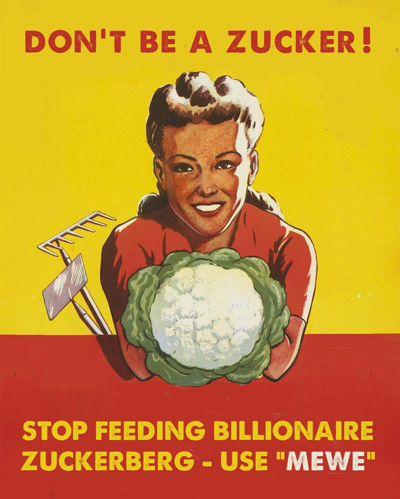 Dont be a zucker! by derkert
