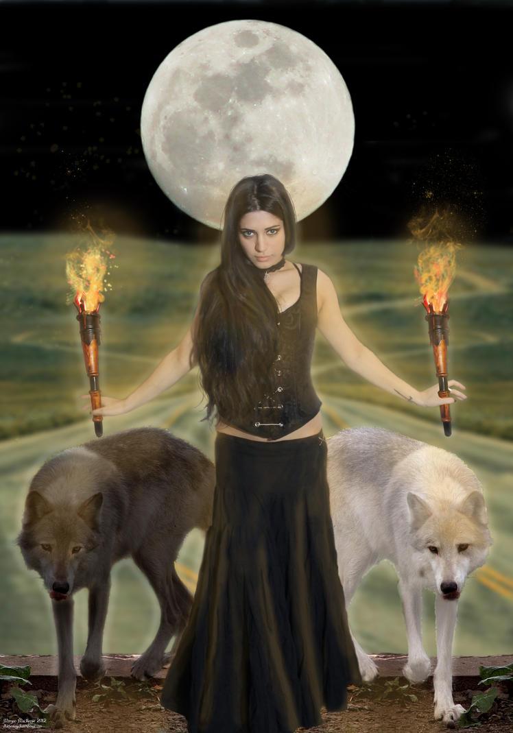Dark Maiden by Alchemagician