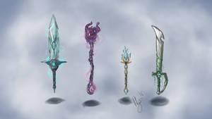 Weapon Concept Art #1 - by LlamaFreak